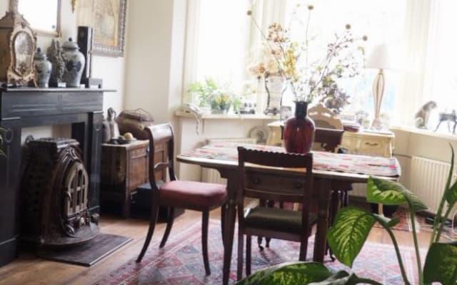 Privatzimmer mit großem ruhigen Garten