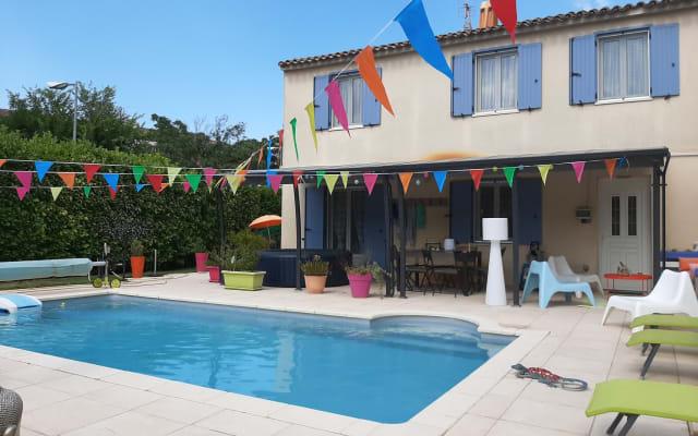 Le Jardin du Bonheur - Chambre Les Cyclades (2pers)