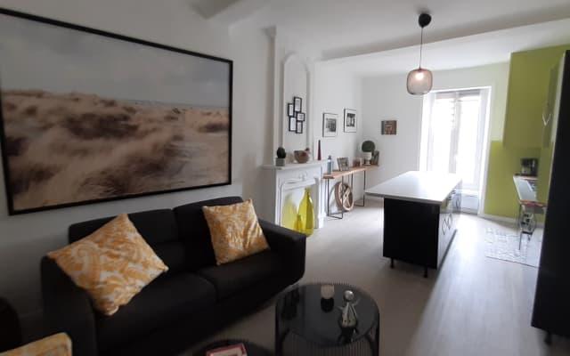 Appartement 65 ;charmant nid douillet, coquet centre ville à découvrir