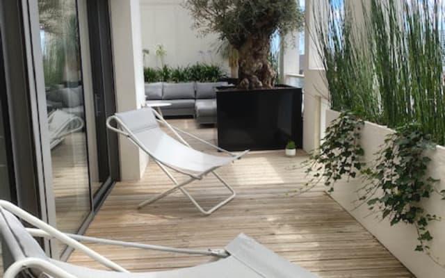 RoofTop Ile de Nantes duplex, private bedroom / bathroom