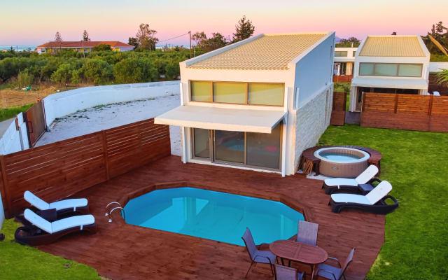 Cocoon Cyma Villa | 1km From Maleme Beach