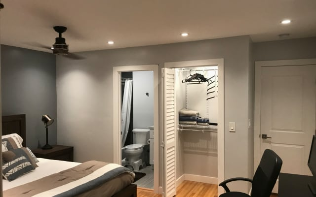 Fully remodeled spacious room with Private Bath