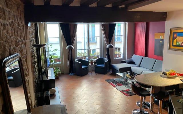 Paris Center - St Denis-Montorgueil - Near Halles - Gay Quarter - -