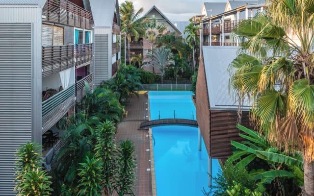 Appart classé meublé 3* avec piscine à St-Pierre