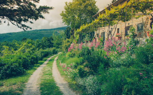 La Pergola, casa colonica con vista panoramica