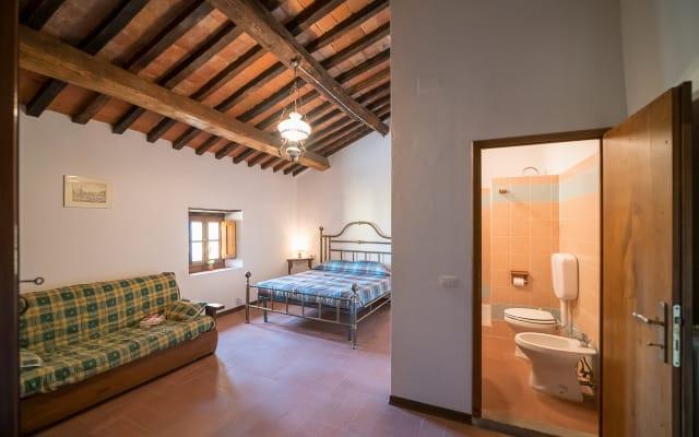 Toscane, chambre triple Rosa