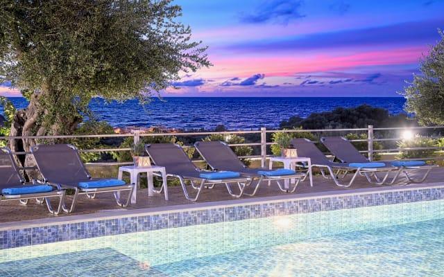 Aqua Blue Villa with Private Pool, Sea View