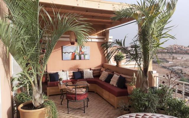 Belle chambre avec terrasse panoramique