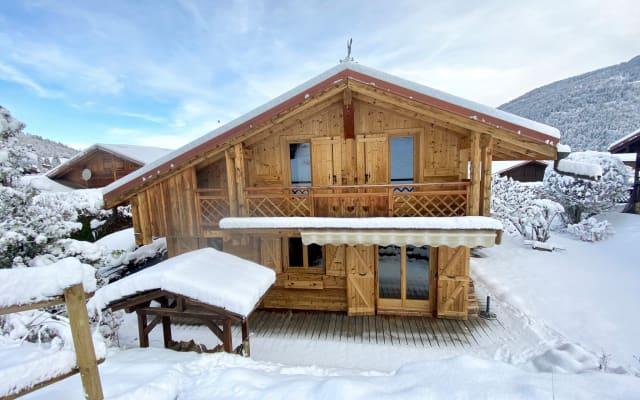 Chalet Savoyard au cœur du Massif du Mont-Blanc