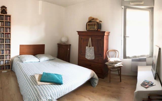Habitación en T3 grande en Les Minimes