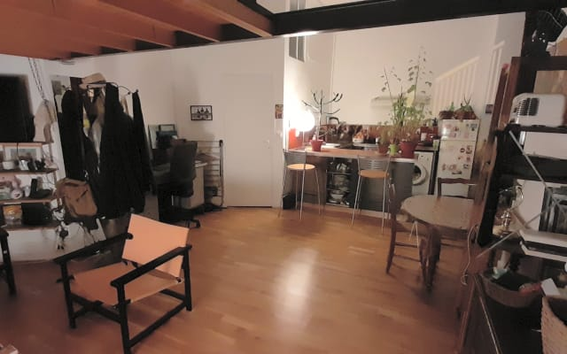 Shared room in Small loft 40m2
