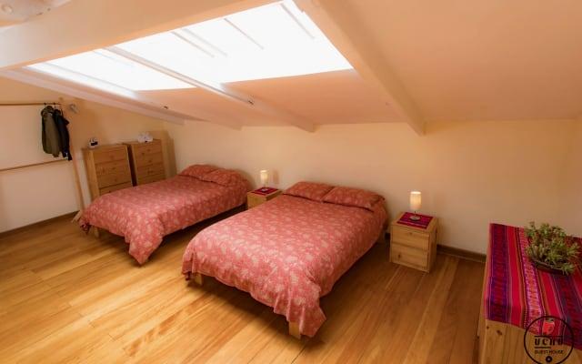 Hermoso Mini-Apartamento, terraza Privada y 2 camas dobles