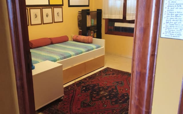 Bedroom with separate entrance