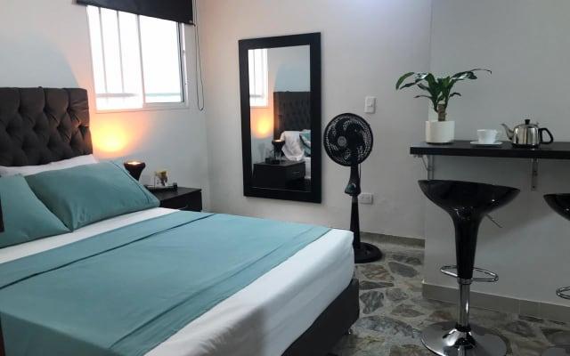 APARTAESTUDIO #4, moderno, cómodo y confortable, excelente ubicación.