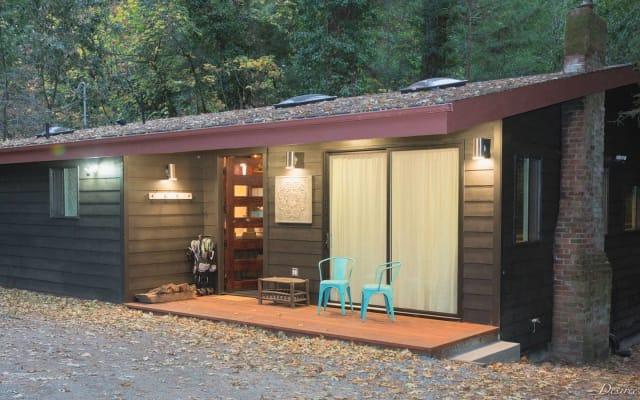 Bohemian Creekside Cottage