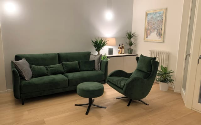 Room in an apartment in the park near the Linate airport