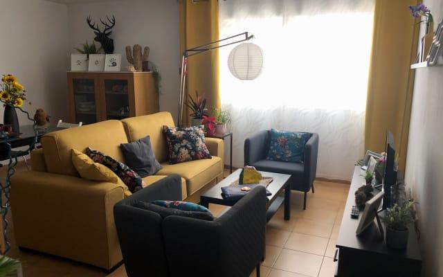 Perfect en-suite bedroom in Puerto del Rosario
