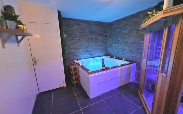Appartement dédié au bien-être espace détente Spa et Sauna privatif