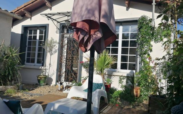 Quarto privado em casa perto de Montpellier