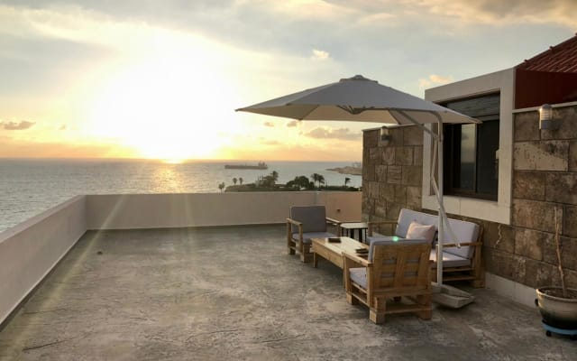 A modern rooftop in the heart of Byblos
