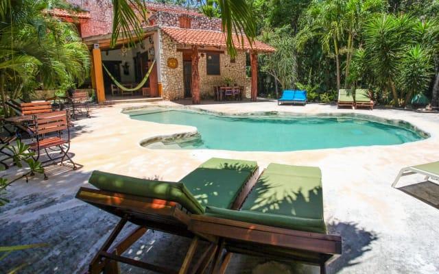 Villa con cenote