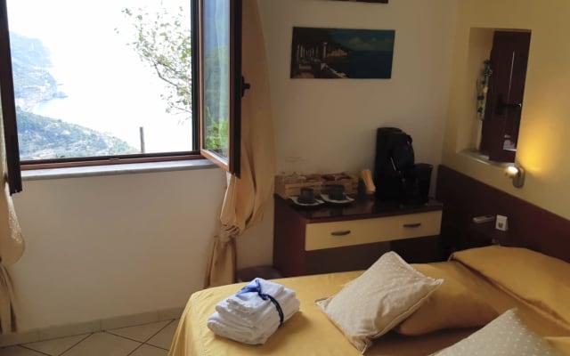 """Double room sea view    """" Ravello Rooms"""""""