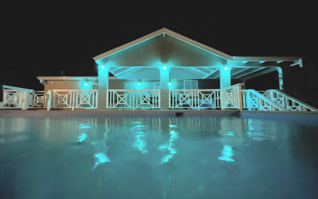 Cruzan Beach House!  2Bedroom/2Bath, Salt  Water Pool,  Walk to beach!