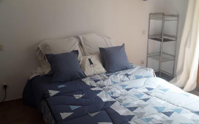 Zimmer für 2 Personen mit Bad und privater Terrasse für Paare