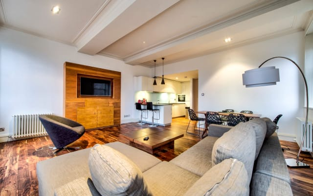 Sumptuous 2 bedroom Apartment next to Edin Castle!