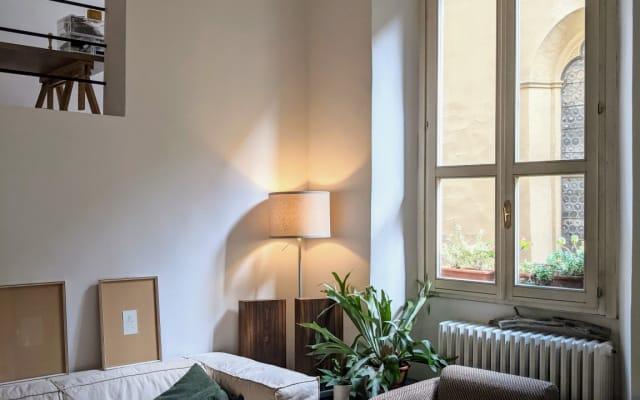 Habitación en Ponte Vecchio - apartamento pareja arquitectos