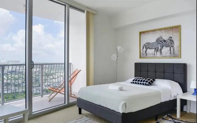 Habitación privada disponible con gran vista