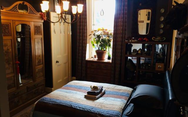 Una bienvenida cómoda, tranquila y única en Leith