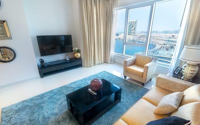 Outstanding waterfront one bedroom