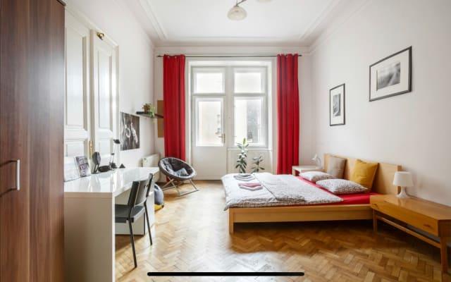 Chambre à Prague # 1 - Meilleur emplacement + quartier central + vue...