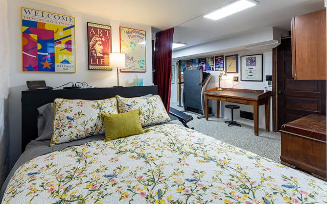 Mike & Allen's Semi-Private Lower-level guest room