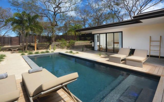 Villa de luxe avec un extérieur incroyable