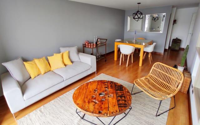 1,290 ft2 | 15th Floor | Beautiful apartment in San Isidro!