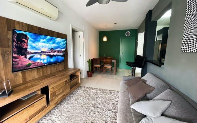 Apartamento moderno completo com home-office