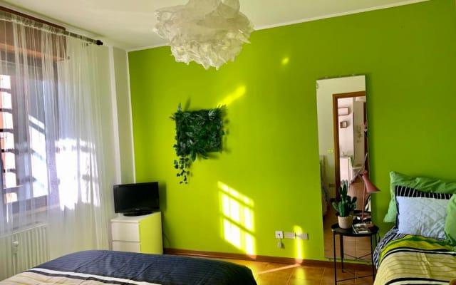 Green Home. Grazioso e luminoso mini in Centro