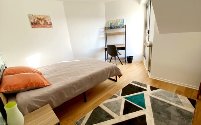 Chambre avec terrasse privative