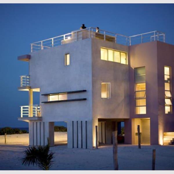 award winning beachfront villa, gay Telchac Puerto - Bed