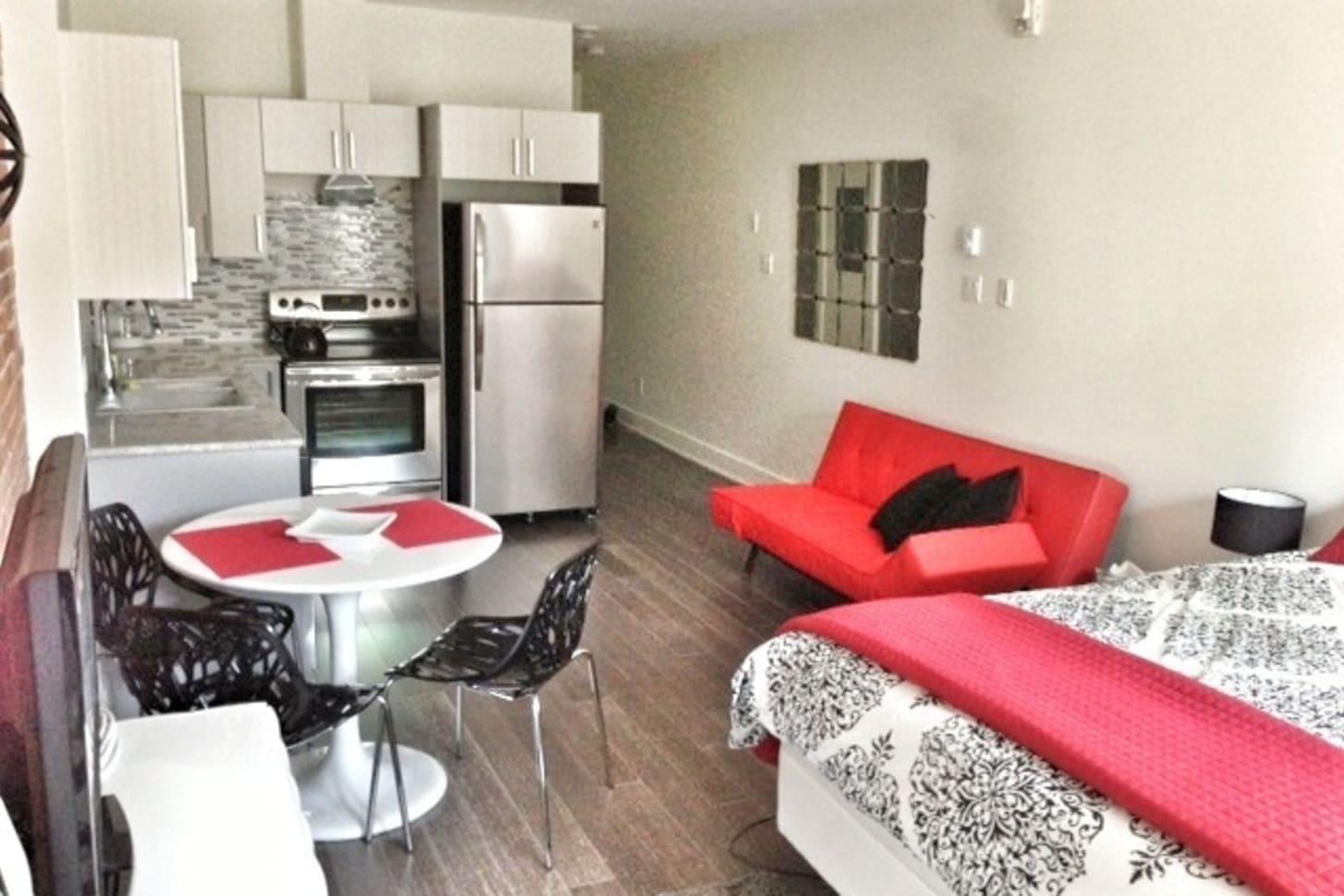 Village gai luxe loft studio montr al gay bed breakfast louer - Loft a louer montreal ...