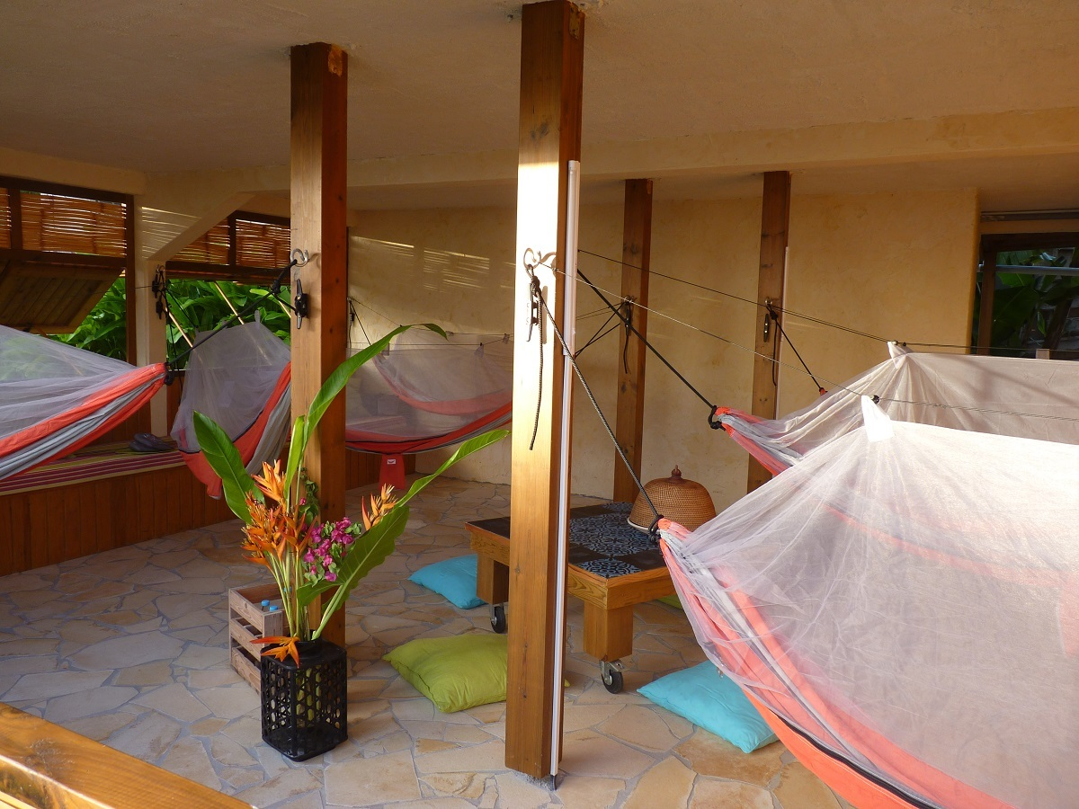 Sleep In Hammocks On Marie Galante Gay Grand Bourg Bed