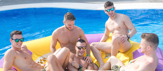 Delice Dream gay spring break
