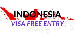 Indonesia visa free entry