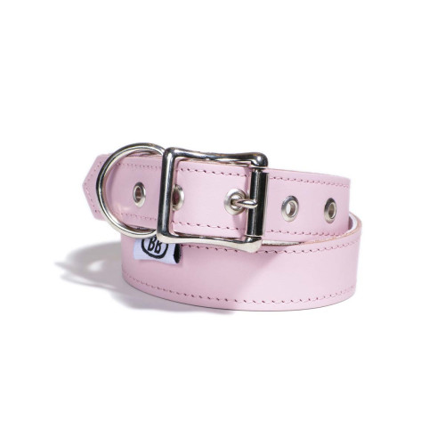 Buddy Belts Premium ID Collars (Pink)