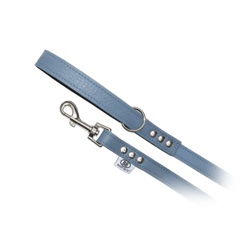 Buddy Belts Luxury Leather Leash (Mount Fuji)