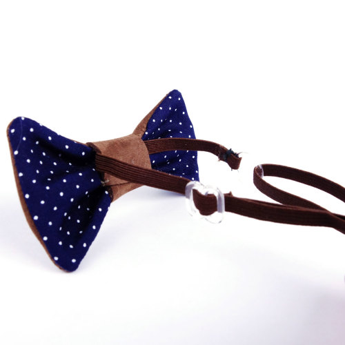 Leather Bowtie for dogs