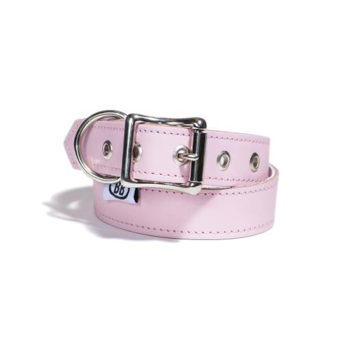 Buddy Belts Premium ID Collars (Pink)