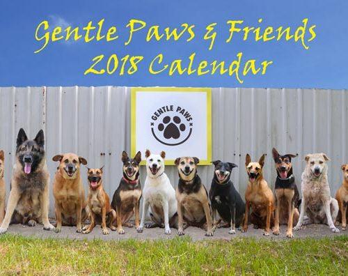 Gentle Paws 2018 Calendar